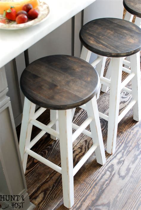 how to paint a bar stool cheap to chic bar stool makeover with my new spray tent