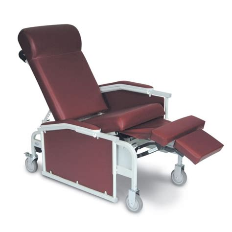 recliner with tray winco drop arm convalescent recliner with tray 5271 from