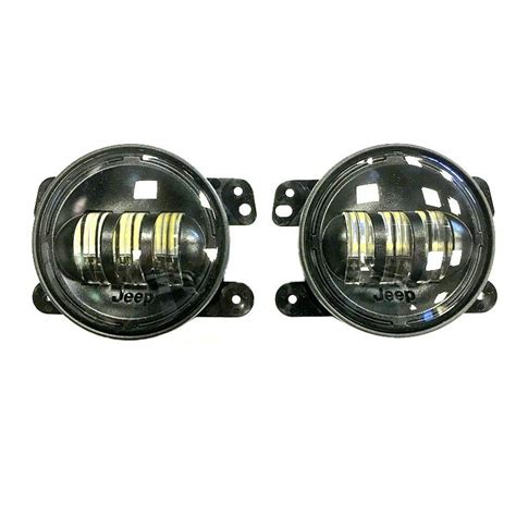 jeep wrangler lights mopar jeep wrangler led fog lights 82214674
