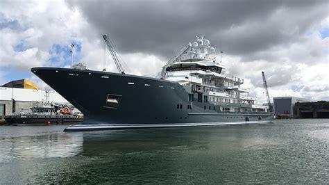 yacht ulysses 107m kleven explorer yacht ulysses completes la rochelle