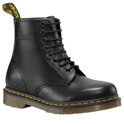 dr martens unisex classic black boots buy at marshall shoes