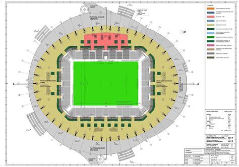 football stadium floor plan craiova ion oblemenco 30 854 skyscrapercity