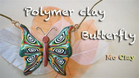 how to make jewelry out of clay polymer clay tutorial diy how to make a butterfly