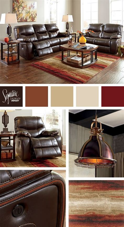 Furniture Industries Inc by Rich Browns And Reds For The Living Room Pranas Dual
