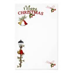 merry christmas letter customized stationery zazzle
