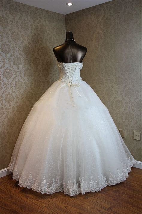 Lace Up Sweetheart  Ee  Ball Ee    Ee  Gown Ee   Pri Ess Bridal Dresses