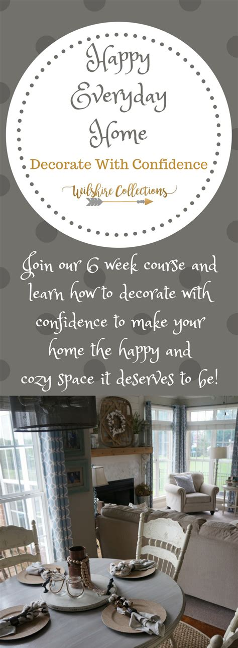 learn how to decorate with confidence in 2018 in our happy