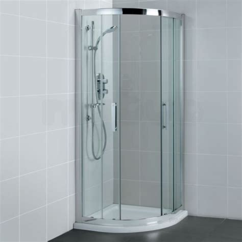 Ideal Standard Shower Doors Ideal Standard Synergy L6284 Quadrant 800mm Silver Clear