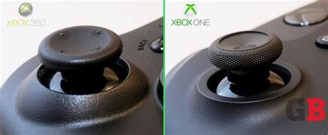 How To Search For On Xbox One Analog Sticks Xbox 360 Vs Xbox One Controllers