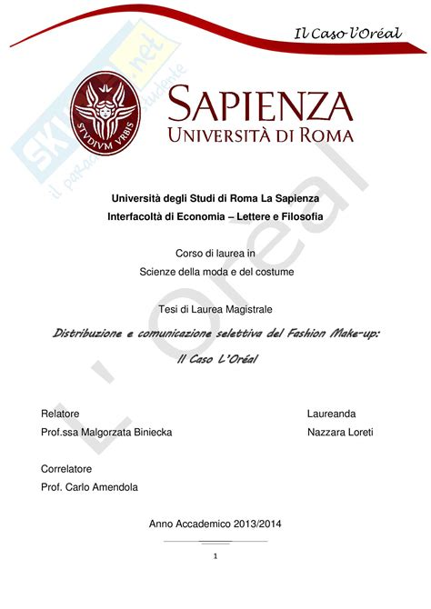 università lettere tesi laurea magistrale tesi di scienze della moda