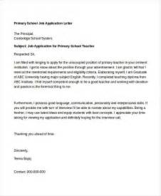 Work Experience Letter Primary School 40 Application Letters Format Free Premium Templates