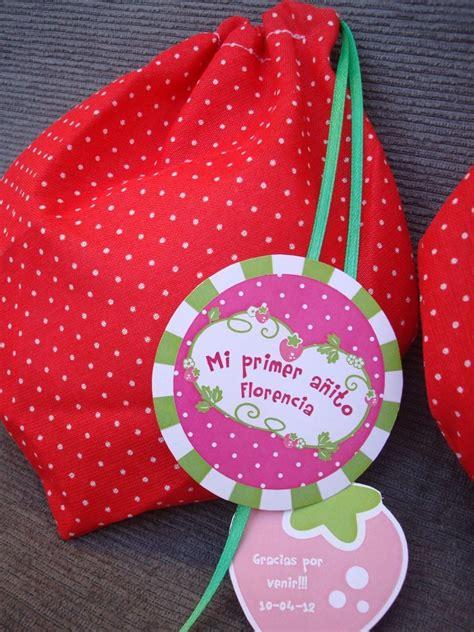 como hacer bolsitas de cumplea os con tela todo bolsitas para cumplea 241 os de frutillita imagui