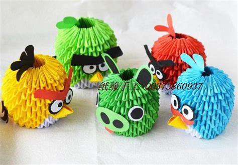 tutorial angry bird origami 3d 352 best 3d origami art images on pinterest origami art