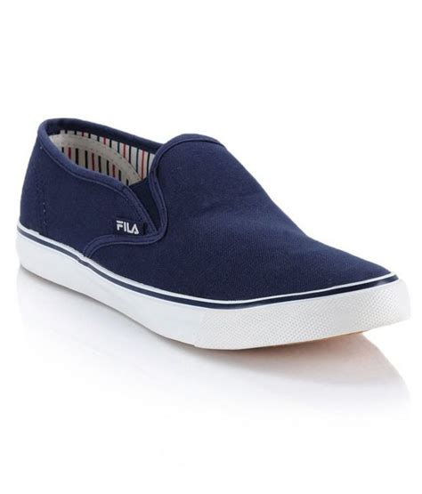 fila blue canvas shoes price in india buy fila blue