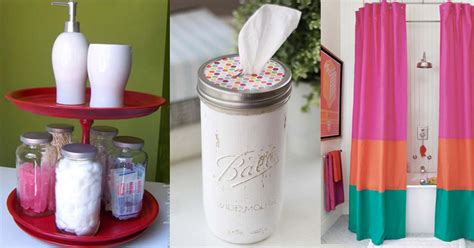 Diy Bathroom Accessories Cool Gifts To Make For Your Parents Diy Projects For