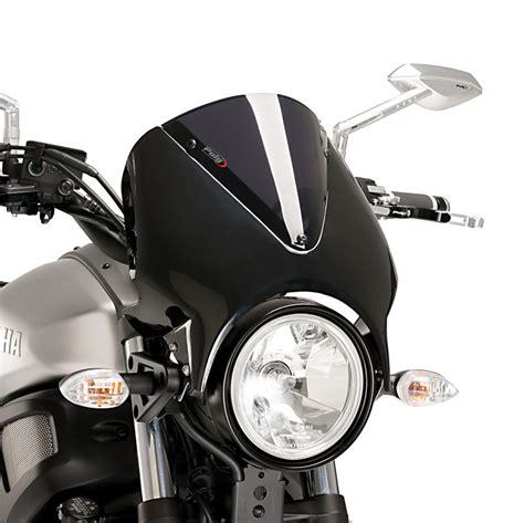 Mini Windschild Motorrad by Windschild Yamaha Xsr 700 16 17 Puig Vision Schwarz Dunkel