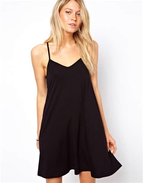 strappy swing dress pretties closet asos strappy cami dress