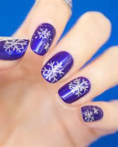 20 christmas snowflake acrylic nail art designs ideas stickers 2015