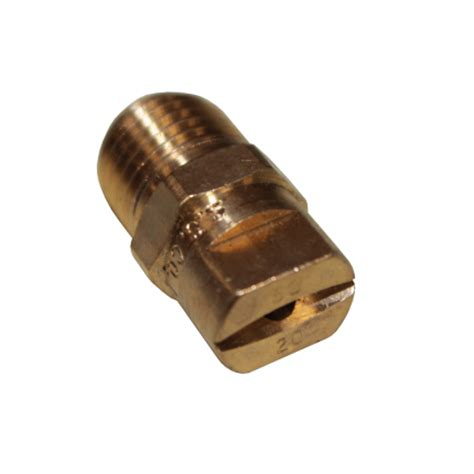 Sprinkler Spray Nozzle Air Irigasi Taman Brass 1 Holes 10pcs 1 4 quot spray tip nozzle 5020 brass nozzles retail
