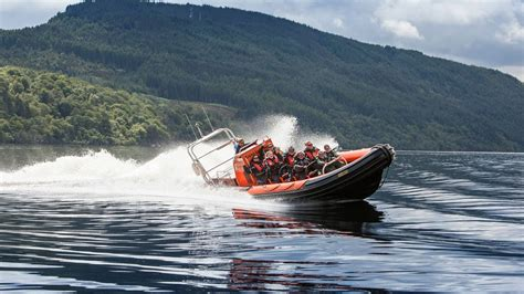 rib boat loch ness what it s like to ride a speedboat on loch ness youtube