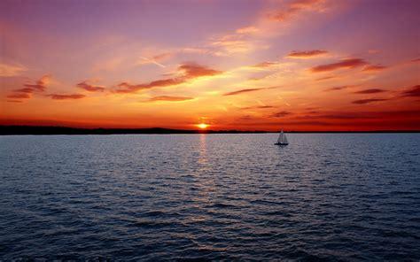 ocean boats sunset ocean boat ship wallpapers sunset ocean boat ship