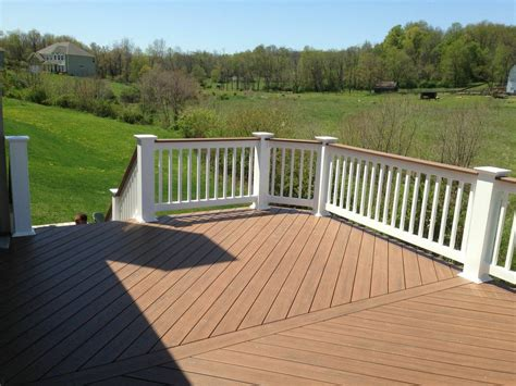 Patio Railing by Columbus Oh Timbertech Decks Columbus Decks Porches And Patios By Archadeck