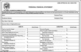 sba flow statement template 6 sba personal financial statement template template