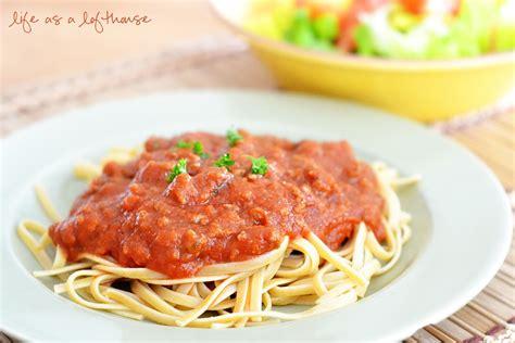 easy pasta sauce spaghetti sauce recipe dishmaps