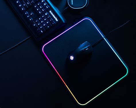 Qck Blue Gaming Mousepad steelseries launches qck prism dual surface rgb illuminated premium gaming mousepad