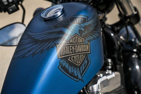 harley davidson forty   anniversary review
