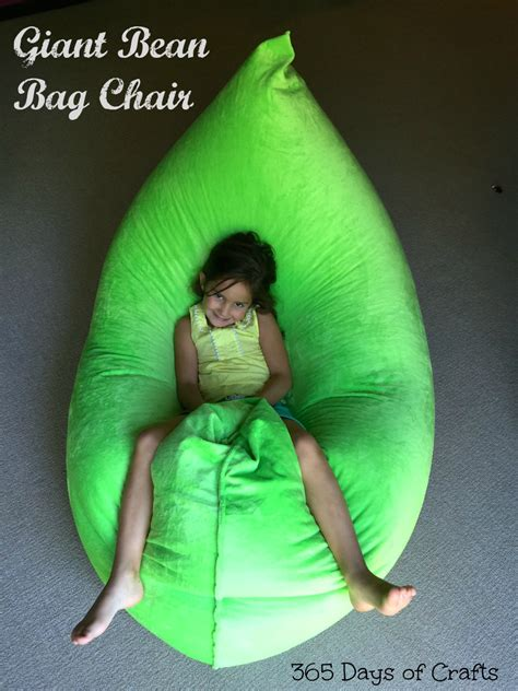 how to make a bean bag chair make a fatboy inspired bean bag chair 365 days of crafts