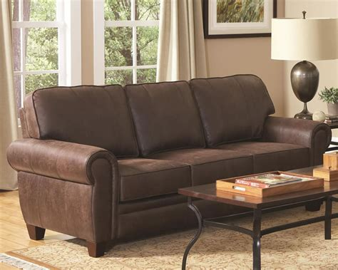 Microfiber Sofa Durability by Brown Microfiber Sofa Store Chicago