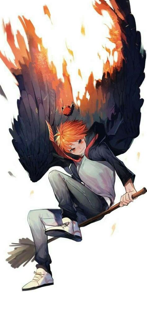 Jaket Hinata Tokyo Ghoul he is so cool fly with him cool boy haikyuu anime and