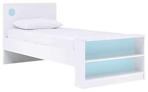 Junior Options Bed Frame With Bookcase Modern Kids Junior Bed Frame