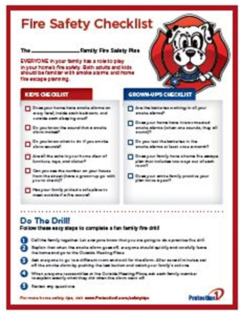 home safety plan best 25 fire safety ideas on pinterest safety week
