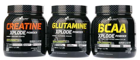 creatine and bcaa xplode creatine glutamine bcaa suplementy pl