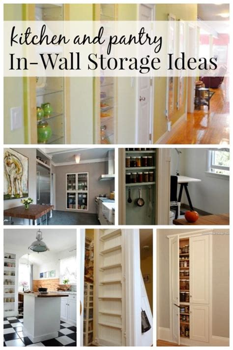remodelaholic  brilliant  wall storage ideas   room   home
