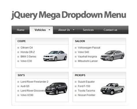 jquery tutorial menu dropdown easy to style jquery drop down menu tutorial queness 2015