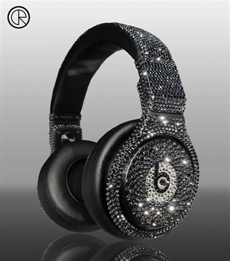 Detoxing Through Ears by Dr Dre Detox Pro Headsets Smeared With Swarovski Crystals