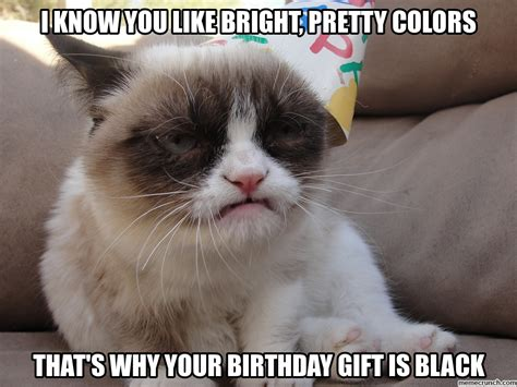 Grumpy Cat Birthday Meme - grumpy cat birthday 1