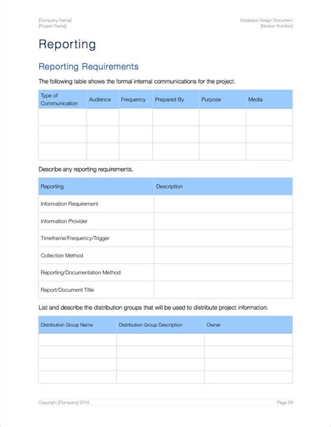 database documentation template database design template apple iwork pages data model
