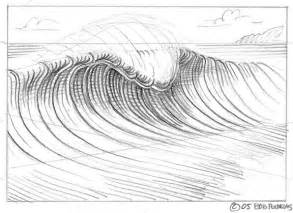 Avoid Drawing A Peak By Merely Water Wave sketch template