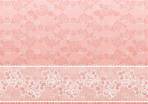 wallpaper pink classic lacy pink retro wallpaper with roses royalty free vector
