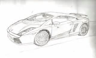 Sketch Of A Lamborghini Lamborghini Sketch By Rashnu2010 On Deviantart