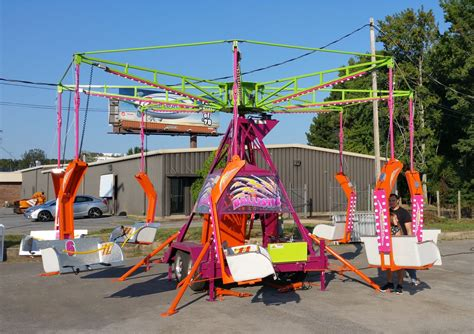 swing rides carnival or mechanical rides