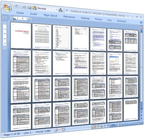 technical writing template pack 15 ms word templates
