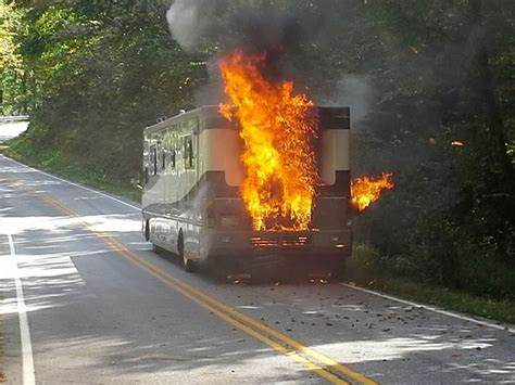 Galerry rv fire image