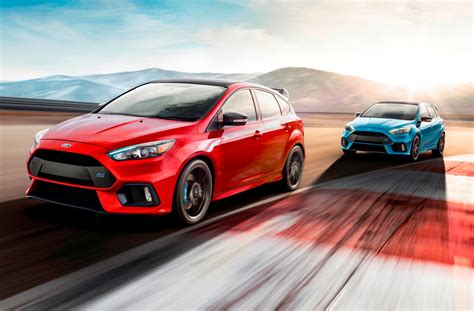 ford focus rs gets faster with a limited edition going