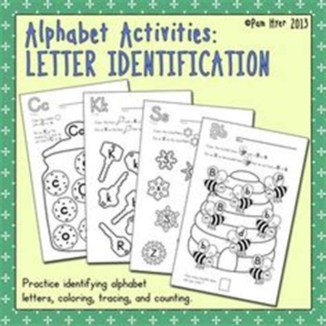 Research Based Letter Recognition Interventions Alphabet Activities Letter Identification