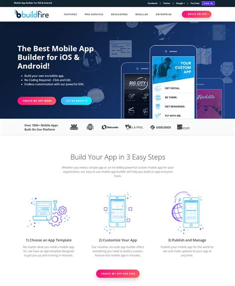 Iwapppress Builds Ios App For Any Website buildfire mobile app builder for ios and android website design